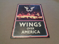Wings Over America Tour Booklet - MPL Communications - 1976 - Paul McCartney
