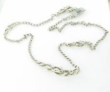 """John Hardy Bamboo Interlinking Necklace 36"""" Sterling Silver New NB5984x36"""