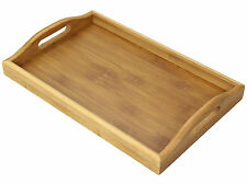 Bamboo Serving Tea Tray, Wooden
