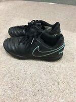 Nike Black Astro Hockey Football Boots Size Uk1