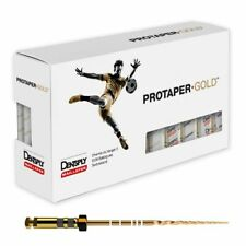 Dentsply Protaper Gold Rotary Files F1f2f3s1s2sx F3 25mm 6 Files Per Packs
