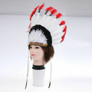 Native American Feather Headdress for Wedding Tribe Party
