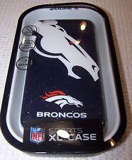 NFL Sports DENVER BRONCOS Hardshell Snap-On Case for iPhone 6 BLUE/WHITE ~ NEW