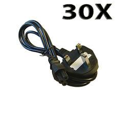 Lote 30X 1.5m C5 Reino Unido Mickey Mouse Hoja De Trébol Cable de alimentación de red del ordenador portátil uked