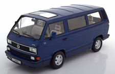 KK SCALE MODELS 1992 VW Bus T3 Blue Metallic LE of 750 1/18 Scale New In Stock!
