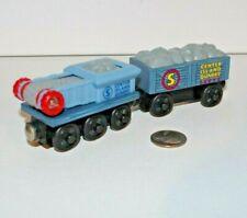 Thomas & Friends Wooden Railway Train Tank - Quarry Boulder + Conveyor Belt Car