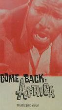 COME BACK AFRICA  MIRIAM MAKEBA LIONEL ROGOSIN  MYSTIC FIRE (1959 VHS)