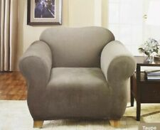 Sure Fit Stretch Sterling Recliner Slipcover in Taupe Beige New