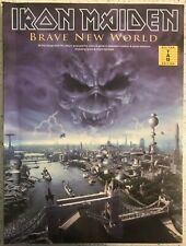 Iron Maiden Brave New World Guitar Tab Edition Tablature - Song Sheet Music Book