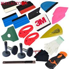 3M Felt Edge Vinyl Squeegee Car Van Bike Wrap Wrapping Tool Kit Scraper Glove AU