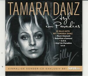 "Tamara Danz ""Asyl im Paradies -10 Silly-Hits mit Tamara Danz"" SUPERillu-CD"