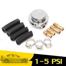 Adjustable 1-5 PSI Fuel Pump Pressure Regulator 8mm 10mm Tail For Carburettor AU