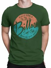 "T-SHIRT Uomo ""Billow Surf Club"" - maglietta 100% cotone - VERDE"