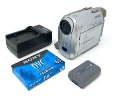 Sony Handycam Dcr-Hc20 Camcorder MiniDv Tape Video Camera Mini Dv Transfer Vgc
