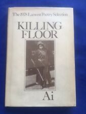 KILLING FLOOR - FIRST EDITION SIGNED BY AI