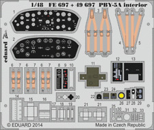 Eduard zoom FE697 1/48 consolidé PBY-5A catalina revell