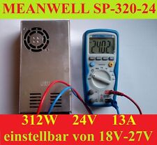 24V 13A MeanWell 312W SP-320-24 RepRap CNC LED 3D Drucker Netzteil Power Supply