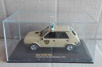 """DIE CAST """" SEAT RITMO 75CL CUERPO DE POLICIA NACIONAL (1981)  """" SCALA 1/43"""