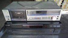 Vintage Sony Cassette Deck & Optimus 5 Disc CD Changer