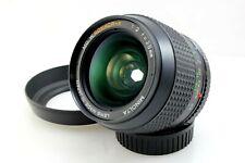 Minolta 28mm F2 MD W.Rokkor-X Fast Wide Angle Lens for Minolta MD Cameras