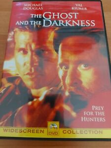 The Ghost and the Darkness (1996) DVD Movie Michael Douglas, Val Kilmer