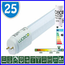 25 LED T8 Tube 2ft Retrofit Fluorescent Replacement Energy Saving Daylight White