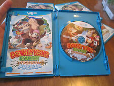 Donkey Kong Country: Tropical Freeze Nintendo Wii U FIRST LABEL COMPLETE