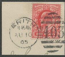 Duplex Pre-Decimal Great Britain Edward VII Stamps