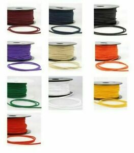 2mm 3mm Round Elastic Soft Cord Thread Band Strap Sewing Craft Face Mask Clothes