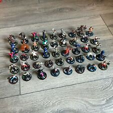 HorrorClix Heroclix (?) The Lab mini figures lot of 44 miniatures NICE WizKids