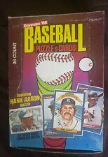1986 donruss wax box