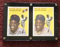 WILLIE MAYS 1994 Topps Archives 1954 Black & Gold Signature #90 In Lucite ⚾️⚾️⚾️