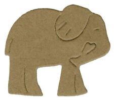 Lifestyle Crafts QuicKutz 2x2 Single Die ELEPHANT CRACKER Circus, Zoo   DS0298