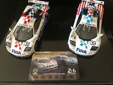 Scalextric McLaren F1 GTR LEMANS 1996 twin pack 1:32 Scale Slot Cars