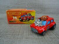 Matchbox Superfast Vintage Lesney Mini HA HA 1975 Diecast Toy Car Boxed