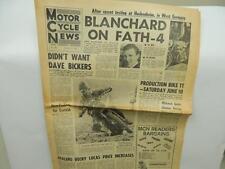 Jan 18 1967 Motor Cycle News Newspaper Greeves Honda Triumph Bultaco BSA L11608