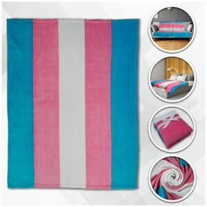 Transgender Super Plush Blanket 50x60 Throw Blanket Trans Pride Blanket LGBTQIA
