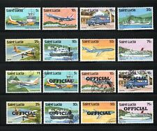 St Lucia -- transport -- 16 diff used from 1980-84