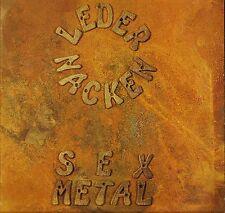 LEDERNACKEN sex metal SBR 16 LP A2/B2 early press uk 1988 LP PS EX/VG EBM