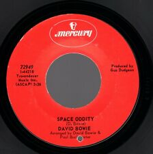 "David Bowie ""Space Oddity"" 1969 US Mercury Stock Copy 45 w/ CO Hole In Label"