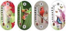 Indoor Outdoor Thermometer AcuRite Assorted Colors Temperature Gauge