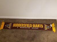 Huddersfield Giants Vintage Rugby Scarf bufanda Fancy Wembley final  0121