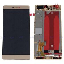 Gold LCD Display+Touch Screen Assembly Frame For Huawei Ascend P8 GRA-TL10 NEW