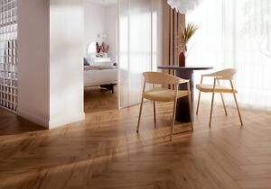 Oak Wood Effect Full Body Porcelain Tiles 90x15 Realistic Wood Texture