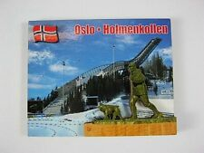 Oslo Holmenkollen,3D großer Holz Magnet,Souvenir Norwegen Norway