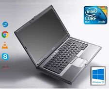 Rapide Dell D630 Intel Core 2 Duo 2.5GHZ 4 Go RAM 500 Go Disque dur WIFI WINDOWS 10 Ordinateur Portable