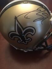 DREW BREES Signed Mini Helmet New Orleans Saints PSA DNA COA