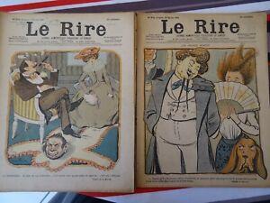 LE RIRE-  lot de 14  numéros - - 1900 -