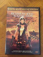 Resident Evil Extinction Widescreen Special Edition DVD 2007 Milla Jovovich