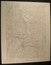 Middletown Connecticut Glastonbury 1928 vintage USGS original Topo chart map